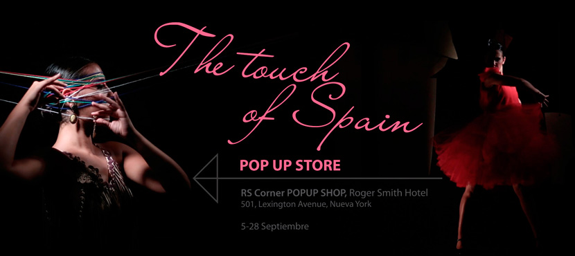 Pop Up Store The Touch of Spain - September 2013