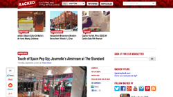 Touch of Spain Pop Up; Journelle's Airstream at The Standard