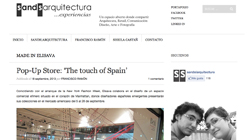 Pop-up store: The Touch of Spain