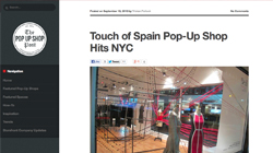 Touch of Spain Pop-Up Shop Hits NYC